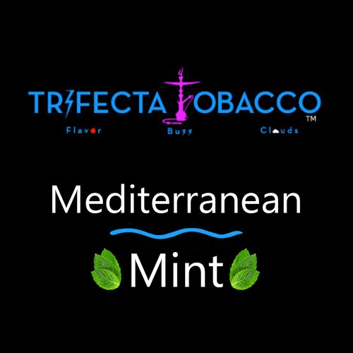 Trifecta Blonde / Mediterranean Mint(グリーンな香りと丸みのある甘さが特徴のSpear Mint系)
