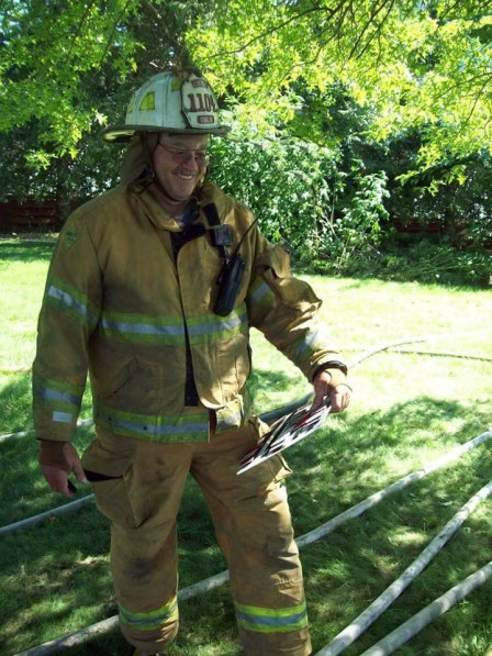 Mark Farren, Chief Aeternum, Colo (IA) Fire & Rescue; The kind of leader proud traditions are built on.