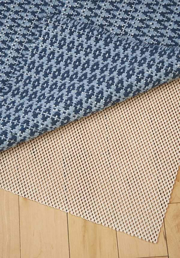 Natural Rubber -skid Rug Pad - Hook & Loom