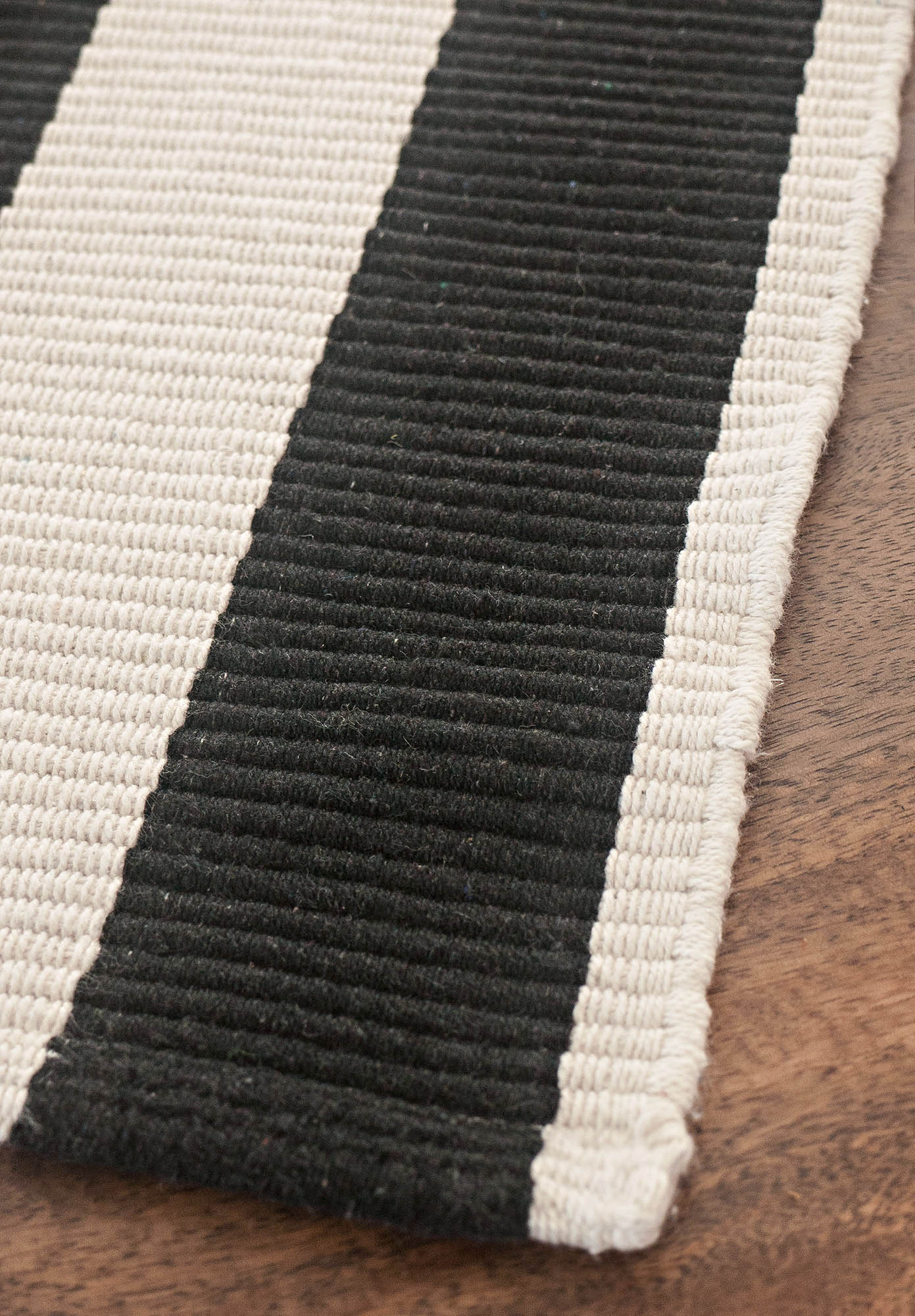 Black And White Striped Rug. View Full Size Black And