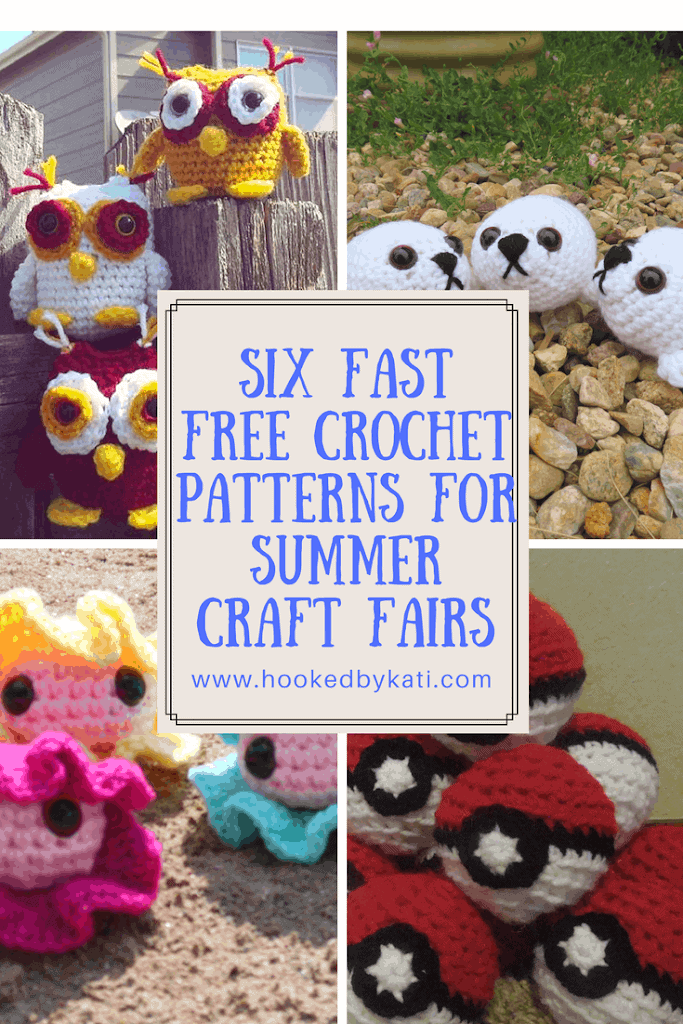 Six Fast Free Crochet Pattern To Sell At Summer Craft Fairs Hooked