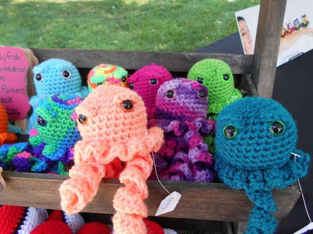Jellyfish Amigurumi Free Crochet Pattern Hooked By Kati