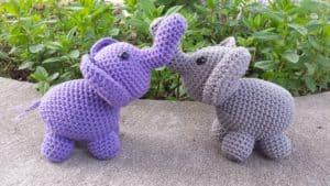 11 Free Crochet Elephant Patterns   169x300