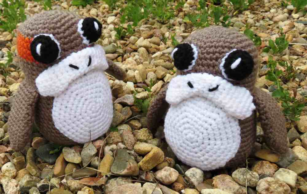 Porg Amigurumi Free Crochet Pattern Hooked By Kati