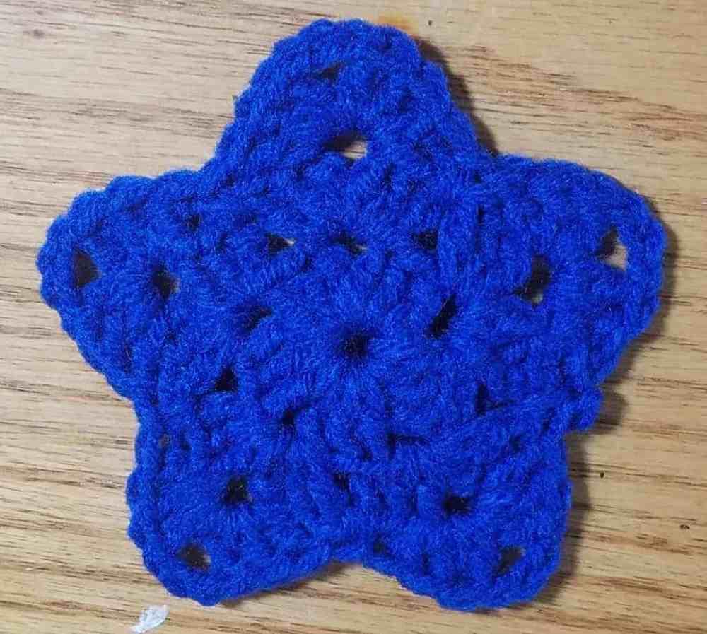 Granny Stitch Star Free Crochet Pattern Hooked By Kati