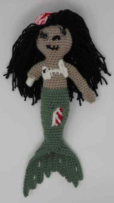 Zombie Mermaid Premium Pattern Now Available Hooked By Kati