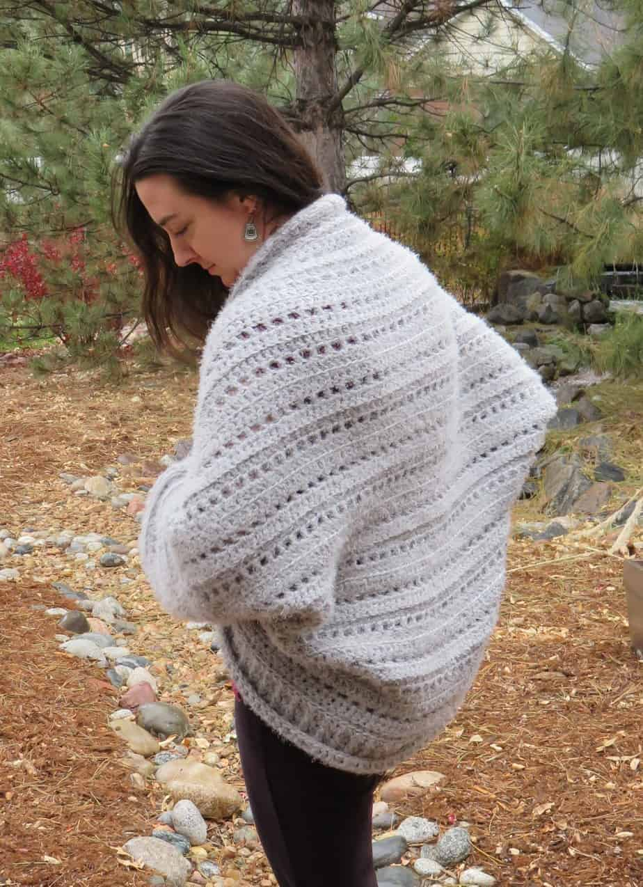 a2044468d65a4 First Snow Cocoon Shrug Crochet Pattern