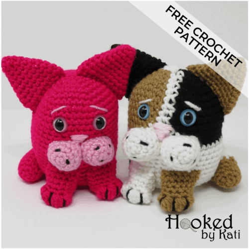 Amigurumi Cat Crochet Pattern Easy Video Tutorial | 500x500