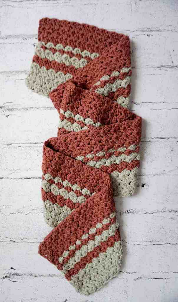 Becoming Scarf free crochet pattern by guest designer Underground Crafter for Hooked by Kati