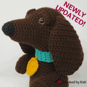Crochet Amigurumi Yorkie Dog part 1 DIY tutorial - YouTube | 300x300