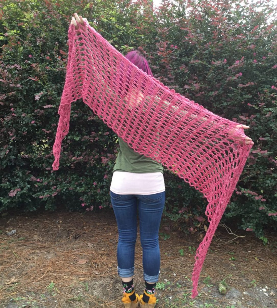 Sensible Shawl Crochet Pattern by Mary Beth Temple, $6, available at Ravelry