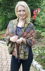 https://www.ravelry.com/patterns/library/mosaic-tile-wrap Mosaic Tile Wrap crochet pattern from Hooked for Life $5