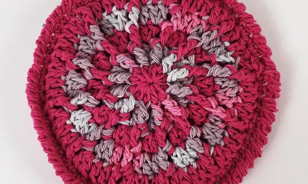 Two Faced Scrubby free crochet pattern from HookedforLifePublishing.com