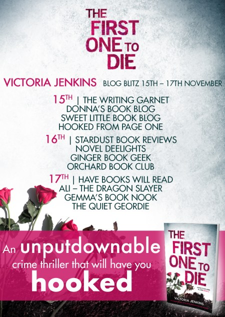 The First One to Die - Blog Tour