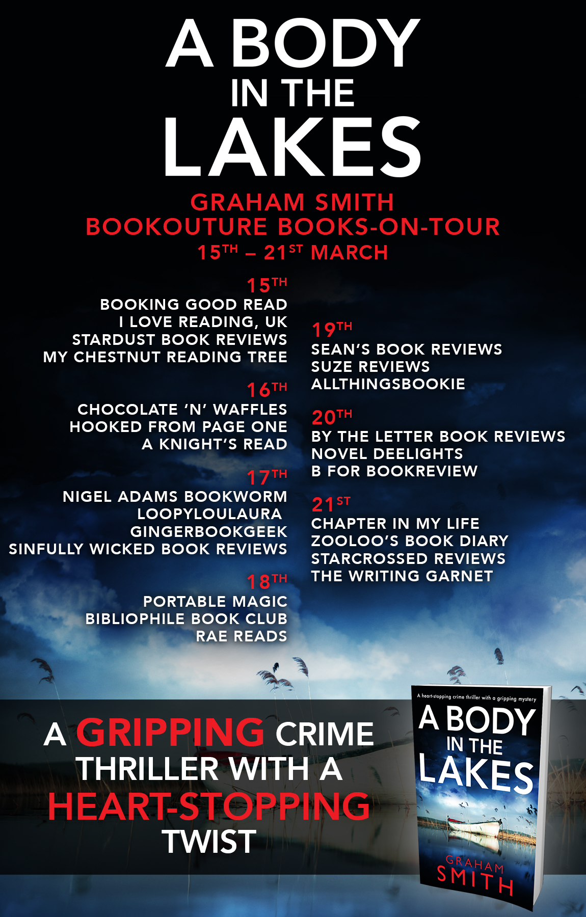 Blog Tour - A Body in the Lakes