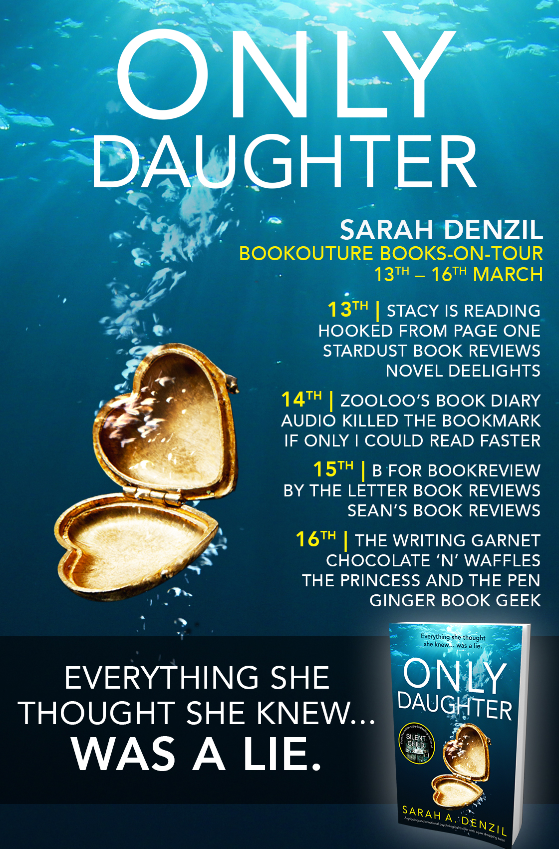 Only Daughter - Blog Tour