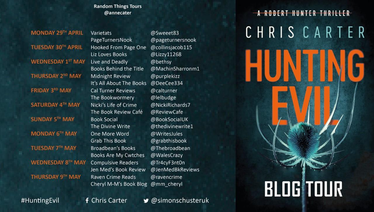 FINAL Hunting Evil Blog Tour Poster