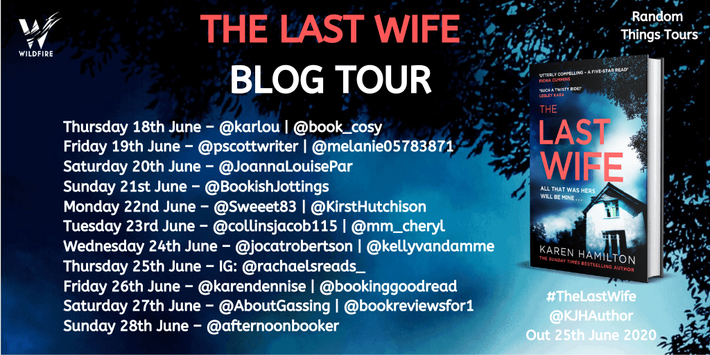 THE LAST WIFE - BLOG TOUR POSTER