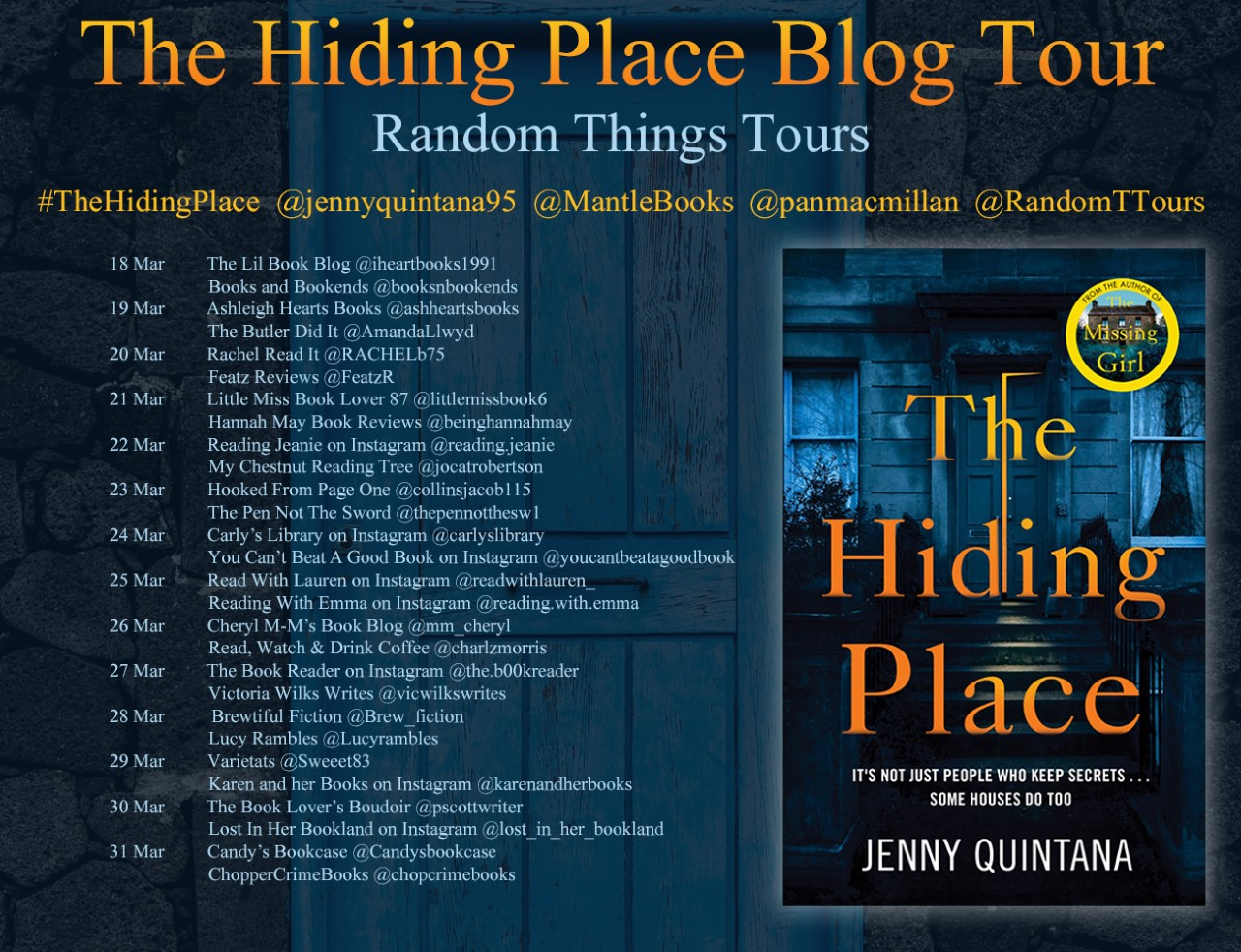 The Hiding Place BT Poster