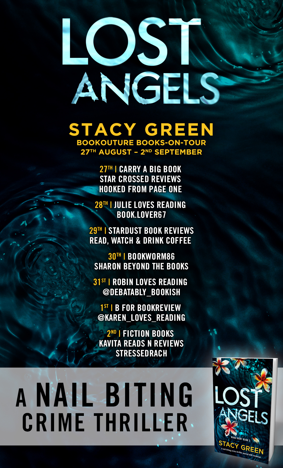 Lost Angels - Blog Tour Poster