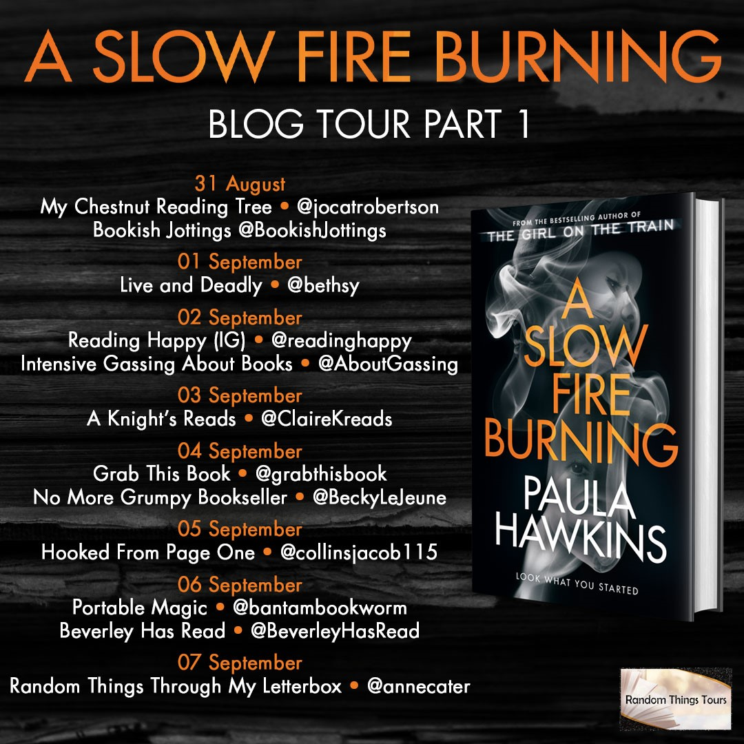 Slow Fire Burning 1 BT Poster
