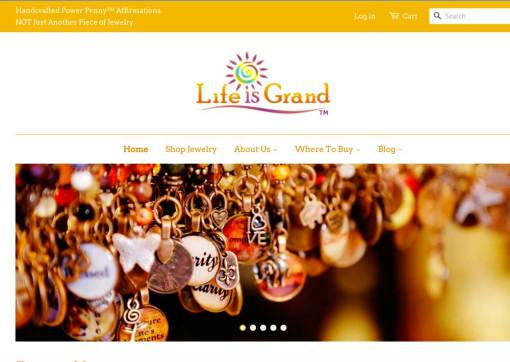 Life is Grand – Shopify Website and Product Structure Redesign