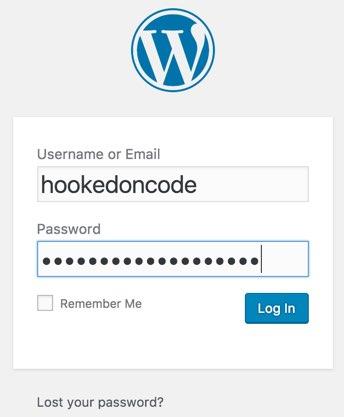 wordpress-signin