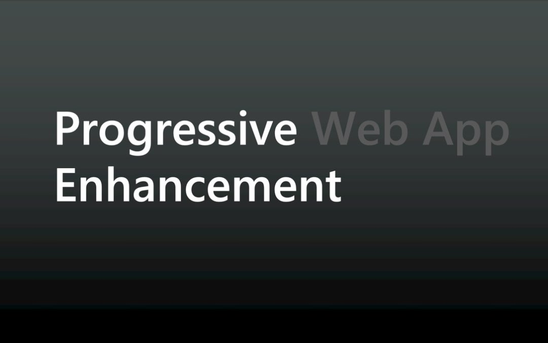 Progressive Web Apps: Where Do I Begin? by Aaron Gustafson
