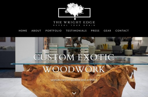 The Wright Edge | Website Creation