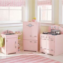 Childrens Play Kitchens Quality Kitchen Cabinet Brands Pink Pottery Barn For Kids - Hooked On Houses