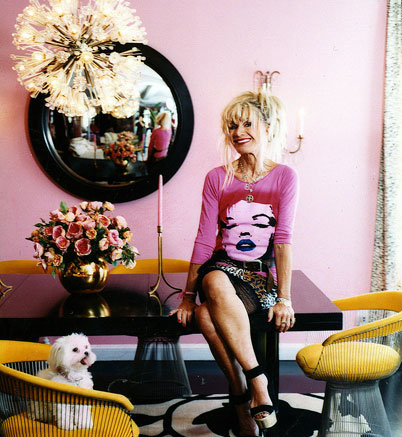 The Estate of Things chooses Betsey Johnson's convex mirror