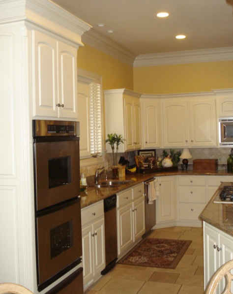 facelift for kitchen cabinets brushed nickel cabinet hardware tobi fairley gives a family - hooked on ...