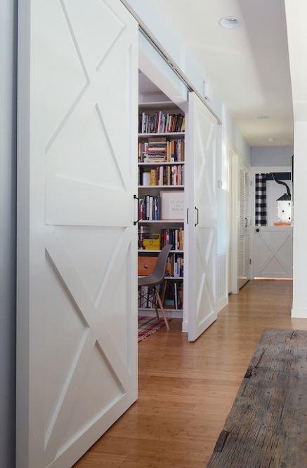 Barn Doors In Hallway Hooked On Houses