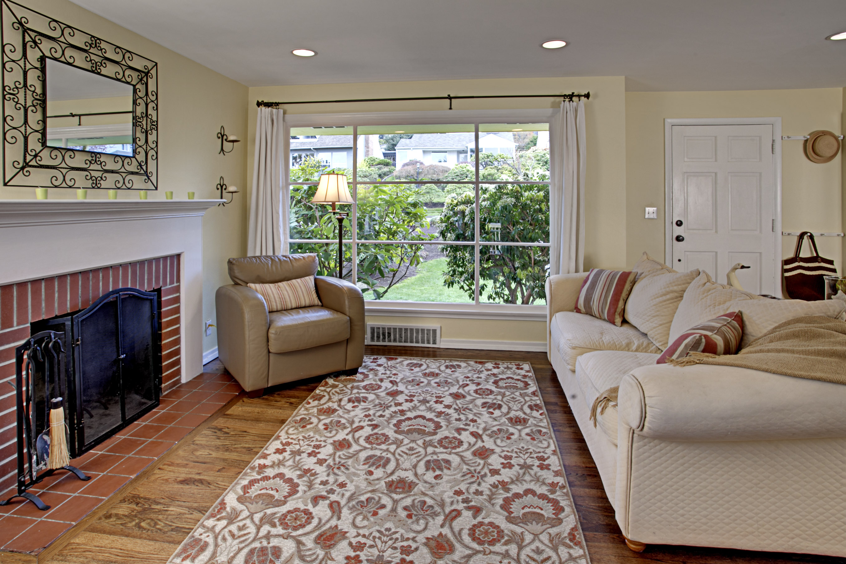 cape cod style house living room interior design ideas for before after a cozy gets makeover hooked on houses here s