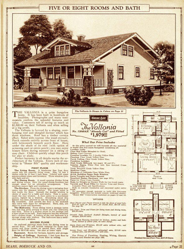 Sears House Plans