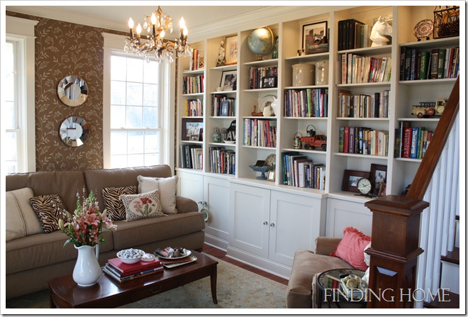 Finding HomeLauras living room bookshelves  Hooked on