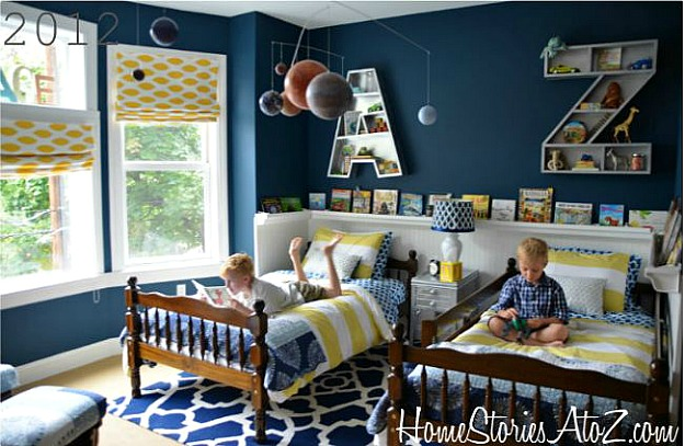 Before After A Bedroom For Boys Hooked On Houses