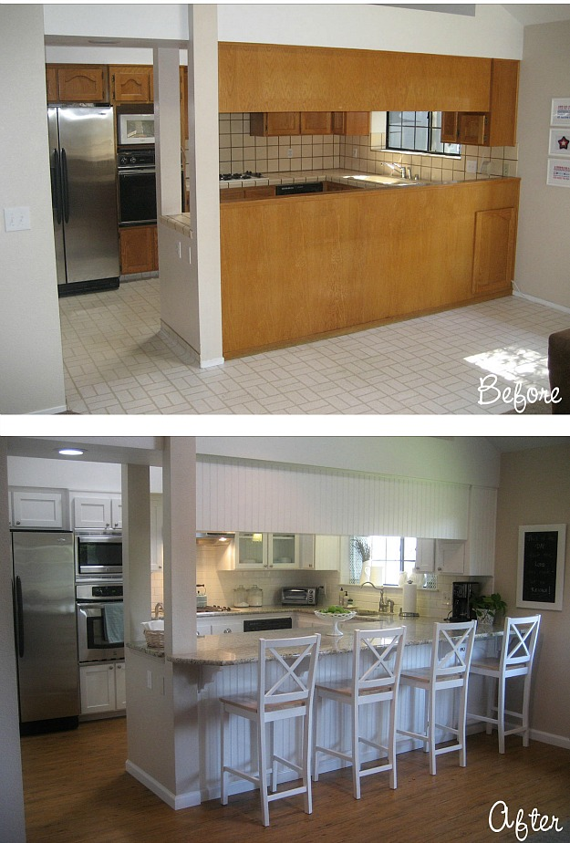Carolyn S Kitchen Bar Before And After Hooked On Houses