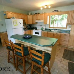 Kitchen Makeover Contest Bar Height Table Sets Before & After: Chania's Cottage In Ontario ...
