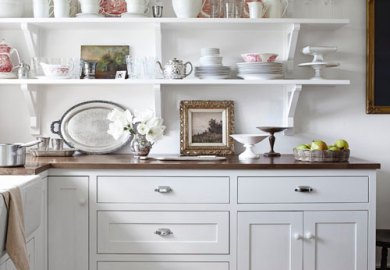 Small White Kitchens Designs
