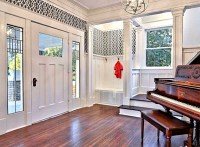 inside front door foyer after reno - Hooked on Houses