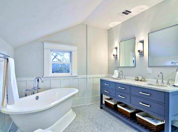 Master Bath Freestanding Tub After Reno Hooked On Houses
