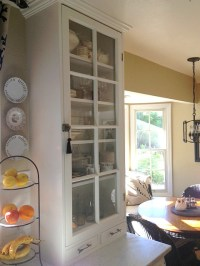 Martha's kitchen glass cabinet 2