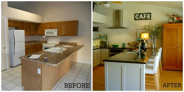 kitchen makeover contest discount countertops contest: vote for the best makeover! - hooked on ...