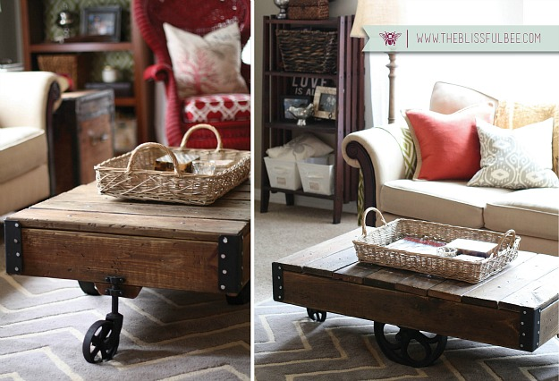 diy small living room design high end furniture redecorating a factory cart in