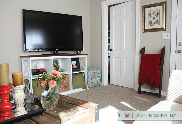 Redecorating a small living room