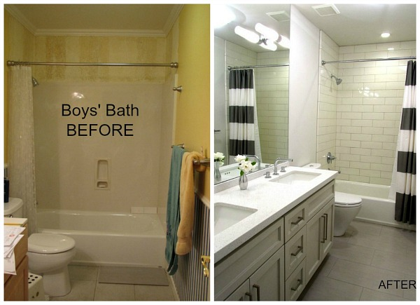 5 More Bathroom Makeovers To Inspire You