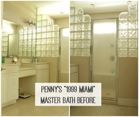 1990s Miami No More Pennys Master Bath Makeover Hooked On Houses