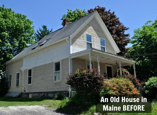 Fixing Up An Old New Englander In Maine Hooked On Houses