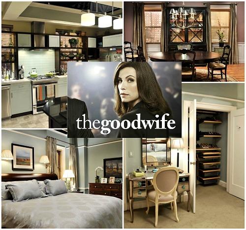 The Good Wife Alicia Florricks Apartment in Chicago